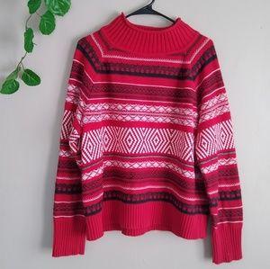 Ralph Lauren sweater red large